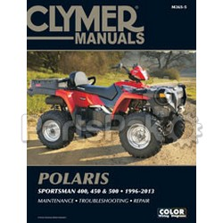 Clymer Manuals M365-4; M365 Sportsman 01-03/Explorer 400/500 96-08 Clymer Man