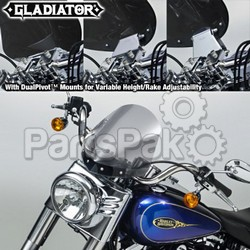 National Cycle N2712; GLADIATOR, In Line 1.25'' Bar, FatBoy, Chrome,Light Tint