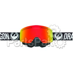 Dragon 265656438067; Nfxs Snow Goggle Coal W / Red Ionized Lens