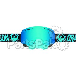 Dragon 265656438689; Nfxs Snow Goggle Merge Blue W / Blue Steel Lens