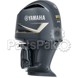 Yamaha F350NCC 350 hp 5.3L V8 4-Stroke Outboard Motor Upper Gray (Lower Unit Sold Separately)