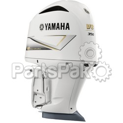 Yamaha F350NCC2 350 hp 5.3L V8 4-Stroke Outboard Motor LSC (Late Stage Customization) White Upper (Lower Unit Sold Separately)