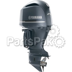 Yamaha LF250XB F250 250 hp Counter Rotating XL Shaft (25