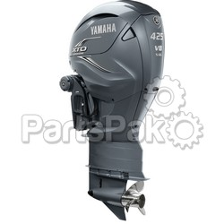 Yamaha LXF425ESA XTO Offshore Gray 425 hp 4-Stroke Outboard Motor with Counter-Rotating 35