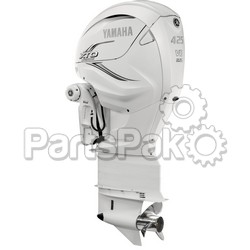 Yamaha LXF425ESA2 XTO Offshore LSC (Late Stage Customization) White 425 hp 4-Stroke Outboard Motor with Counter-Rotating 35
