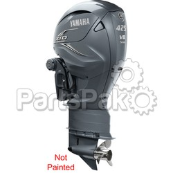 Yamaha LXF425ESA7 XTO Offshore LSC (Late Stage Customization) Unpainted 425 hp 4-Stroke Outboard Motor with Counter-Rotating 35