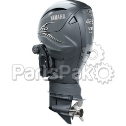 Yamaha LXF425USA XTO Offshore Gray 425 hp 4-Stroke Outboard Motor with Counter-Rotating 30
