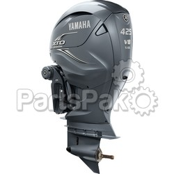 Yamaha LXF425XSA XTO Offshore Gray 425 hp 4-Stroke Outboard Motor with Counter-Rotating 25