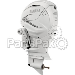 Yamaha LXF425XSA2 XTO Offshore LSC (Late Stage Customization) White 425 hp 4-Stroke Outboard Motor with Counter-Rotating 25