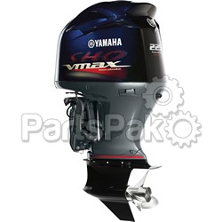 Yamaha VF225LA VF225 225 hp SHO Long Shaft (20