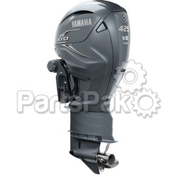 Yamaha XF425ESA XTO Offshore Gray 425 hp 4-Stroke Outboard Motor with 35