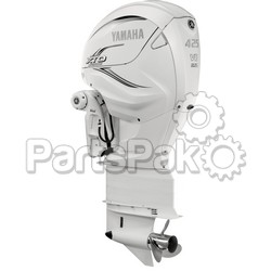 Yamaha XF425ESA2 XTO Offshore LSC (Late Stage Customization) White 425 hp 4-Stroke Outboard Motor with 35