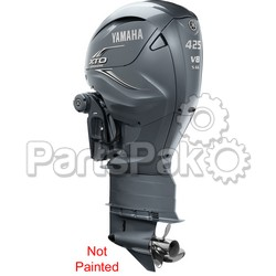 Yamaha XF425ESA7 XTO Offshore LSC (Late Stage Customization) Unpainted 425 hp 4-Stroke Outboard Motor with 35