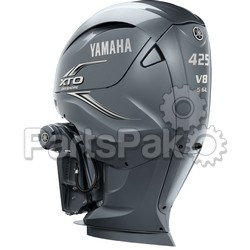 Yamaha XF425NSA XTO Offshore Gray 425 hp 4-Stroke Outboard Motor Upper (Lower Unit Sold Separately)