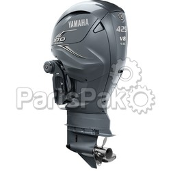Yamaha XF425USA XTO Offshore Gray 425 hp 4-Stroke Outboard Motor with 30