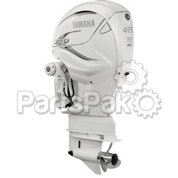 Yamaha XF425USA2 XTO Offshore LSC (Late Stage Customization) White 425 hp 4-Stroke Outboard Motor with 30