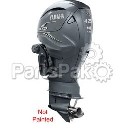 Yamaha XF425USA7 XTO Offshore LSC (Late Stage Customization) Unpainted 425 hp 4-Stroke Outboard Motor with 30