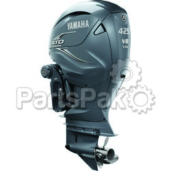 Yamaha XF425XSA XTO Offshore Gray 425 hp 4-Stroke Outboard Motor with 25