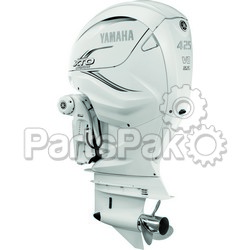 Yamaha XF425XSA2 XTO Offshore LSC (Late Stage Customization) White 425 hp 4-Stroke Outboard Motor with 25